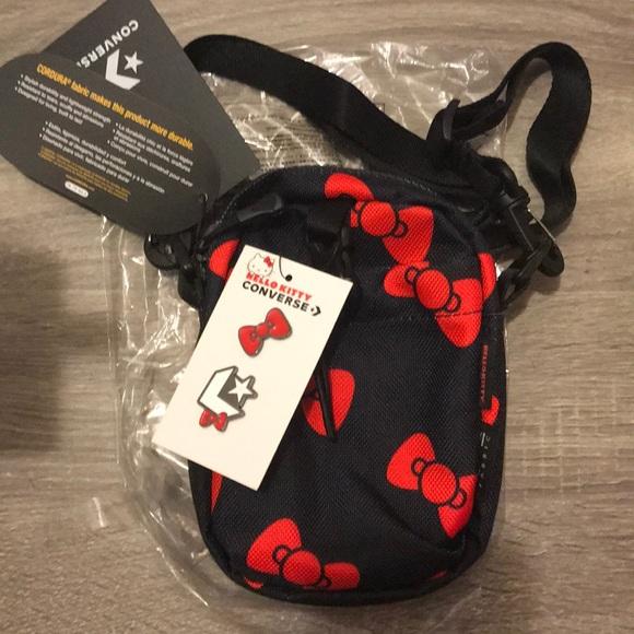 Hello Kitty Bags   X Converse Cross Body Bag Nwt   Poshmark c55f6c178c